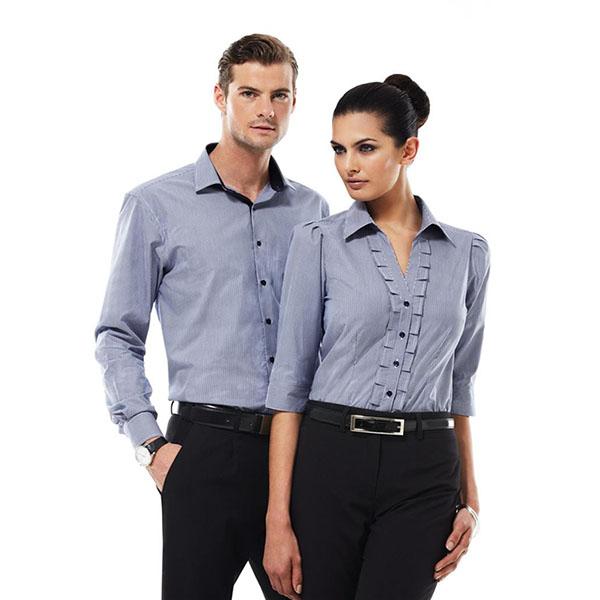 Biz Mens Edge L S S267ml Work Smart Uniforms Australia
