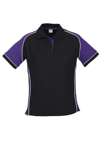 P10122 purple work smart uniforms australia buy online for Purple polo uniform shirts