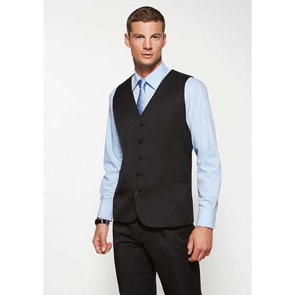 biz mens longline vest 90112 work smart uniforms