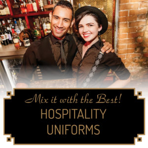 CLICK TO SEE OUR HOSPITALITY UNIFORM STORE