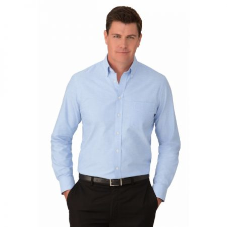 MENS OXFORD LS SHIRT - STYLE 4255