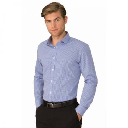 MENS SO EZY LONG SLEEVE CHECK SHIRT - STYLE 4263