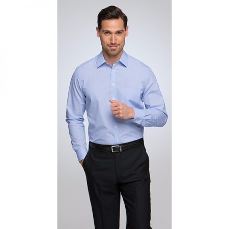 MENS PINFEATHER LONG SLEEVE SHIRT - STYLE 4265