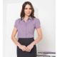 203-LO Ladies short sleeve trim shirt