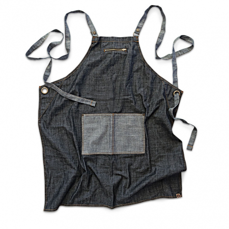 Manhattan Denim Cross Back Apron