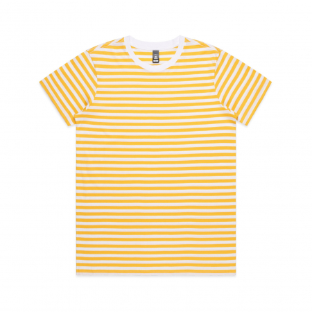 WOMEN'S MAPLE STRIPE TEE - 4037