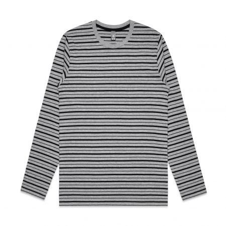 MENS MATCH STRIPE L/S TEE - 5031