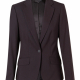 M9205 Women's Stretch One Button Cropped Jacket