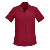 NEW Womens Plain S/S Shirt - CS947LS